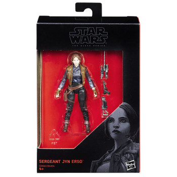 "Star Wars The Black Series 3.75"" SERGEANT JYN ERSO Action Figure"