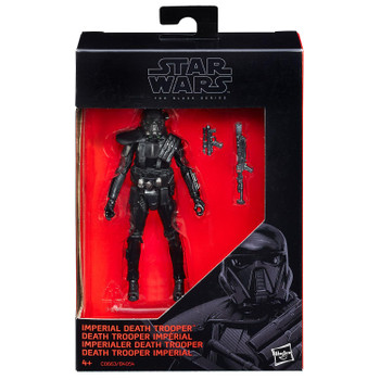"""Star Wars The Black Series 3.75"""" IMPERIAL DEATH TROOPER Action Figure"""