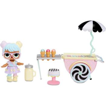 L.O.L. Surprise! - Furniture (Series 2) - ICE CREAM POP-UP with BON BON Doll