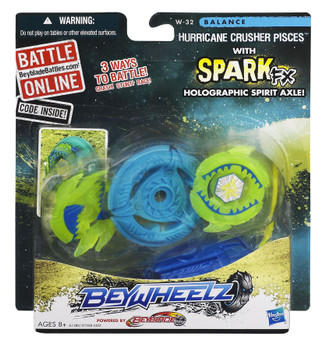 Beyblade Beywheelz Hurricane Crusher Pisces in packaging