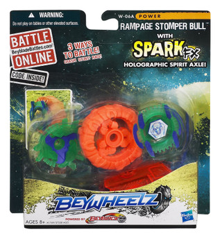 Beyblade Beywheelz Rampage Stomper Bull in packaging
