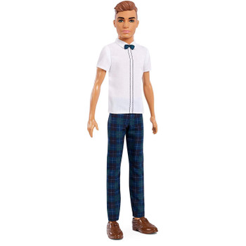 Ken Fashionistas Doll 117 is slimmer than the original