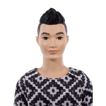 Ken Fashionistas Doll 115 has asian fatures