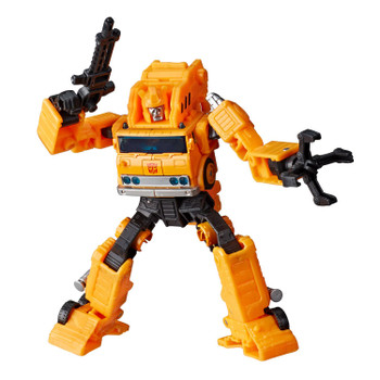 Transformers War for Cybertron: Earthrise Voyager Class Autobot GRAPPLE Action Figure in robot mode.