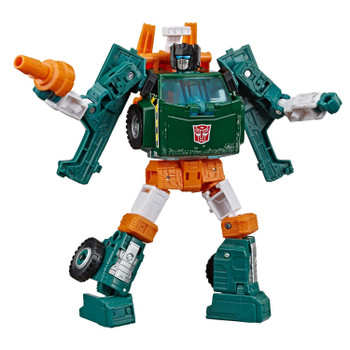Transformers War for Cybertron: Earthrise Deluxe Class HOIST Action Figure in robot mode.