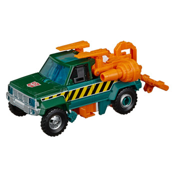 Transformers War for Cybertron: Earthrise Deluxe Class HOIST Action Figure in vehicle mode.