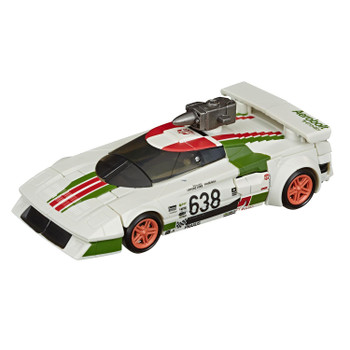 Transformers War for Cybertron: Earthrise Deluxe Class WHEELJACK Action Figure in vehicle mode.