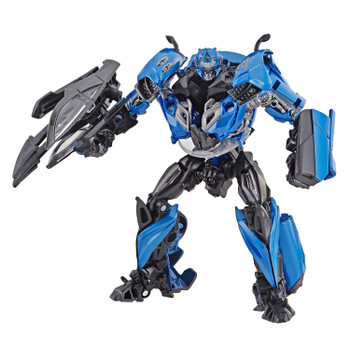 Transformers Studio Series #23 Deluxe Class Age of Extinction KSI SENTRY in robot mode.