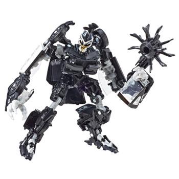 Transformers Studio Series #28 Deluxe Class Movie 1 BARRICADE in robot mode.
