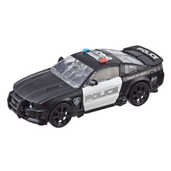 Transformers Studio Series #28 Deluxe Class Movie 1 BARRICADE in vehicle mode.