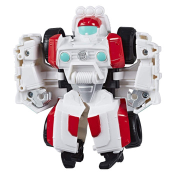 Playskool Heroes Transformers Rescue Bots Academy Rescan MEDIX the Doc-Bot in robot mode.