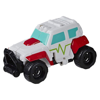 Playskool Heroes Transformers Rescue Bots Academy Rescan MEDIX the Doc-Bot in vehicle mode.