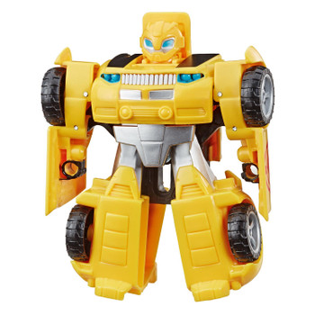 In robot mode, Bumblebee stands around 4.5 inches (11.5 cm) tall.