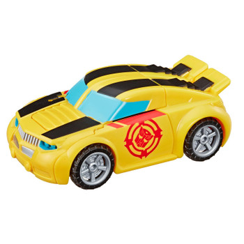 Kids can imagine racing to the rescue with this Bumblebee toy, inspired by the Transformers Rescue Bots Academy animated TV show.