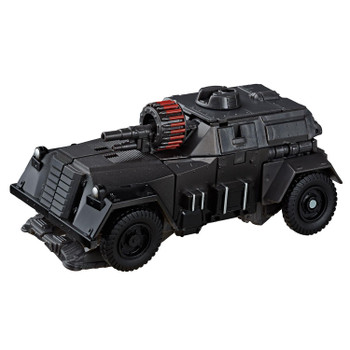 Transformers Studio Series 50 Deluxe Class WWII Autobot Hot Rod figure in vehicle mode.