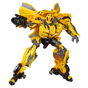Transformers Studio Series #49 Deluxe Class Movie 1 BUMBLEBEE figure in robot mode.