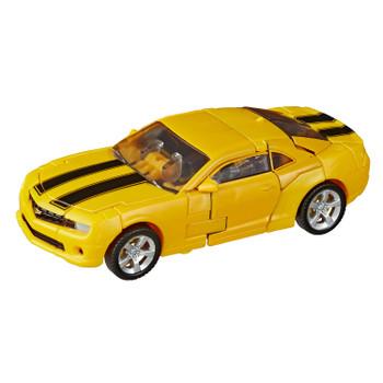 Transformers Studio Series #49 Deluxe Class Movie 1 BUMBLEBEE figure in vehicle mode.