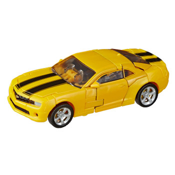 Transformers Studio Series #49 Deluxe Class Movie 1 BUMBLEBEE figure in vehicle mode.