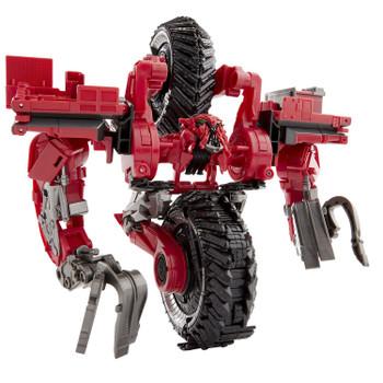 Transformers Studio Series #55 Leader Class Revenge of the Fallen Constructicon SCAVENGER in robot mode.