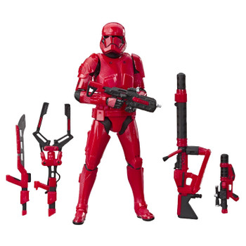 Inspired by scenes from Star Wars: Episode IX, this exclusive 6-inch figure from The Black Series includes no less than 5 accessories and features premium deco across multiple points of articulation.