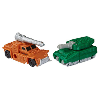 These toys are a great update to the G1 Decepticon Military Patrol Micromasters released way back in 1990.