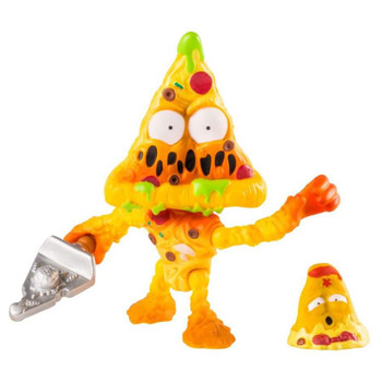 3-inch scale Putrid Pizza action figure comes with weapon accessory, plus collectable Grossery Gang figure.