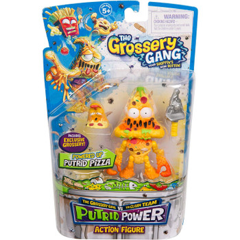 The Grossery Gang Putrid Power PUTRID PIZZA Action Figure in packaging.
