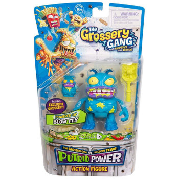 The Grossery Gang Putrid Power BLOW FLY Action Figure in packaging.