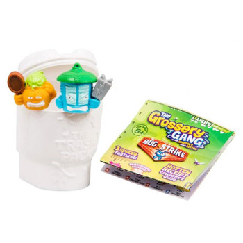 Way more gross than most, this Surprise Pack contains two mystery Grosseries and one toilet.