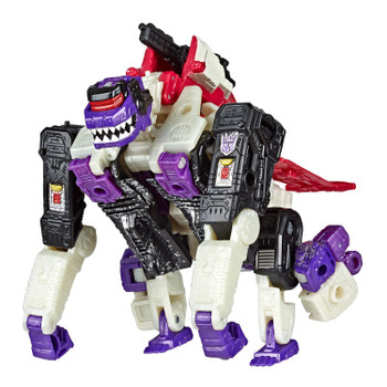 Transformers Generations War for Cybertron WFC-S50 Apeface Action Figure in gorilla mode.