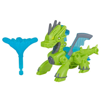 Sized right for little hands - In dragon mode, Drake measures around 3.5 inches (9 cm) long.