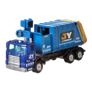 The Matchbox Garbage King HD features working side loader