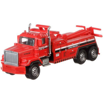The Western Star 6900XD Super Wrecker Tow Truck is a larger-sized service vehicle with moving parts.