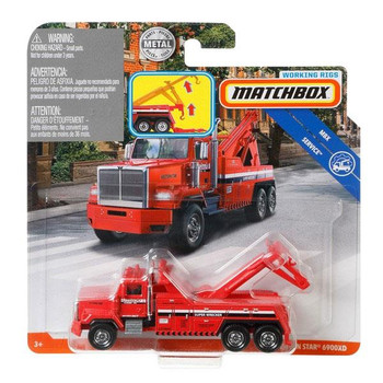 Matchbox Real Working Rigs - Western Star 6900XD (Tow Truck) in packaging.