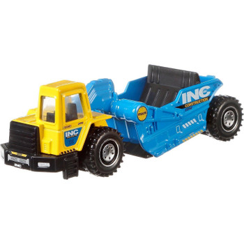 The Road Scraper is a larger-sized construction vehicle with moving parts.