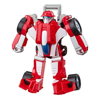 2-IN-1 RESCUE BOTS ACADEMY TOY: Little heroes can enjoy twice the fun with 2 modes of play, converting this Heatwave the Fire-Bot action figure from racecar to a robot and back again.