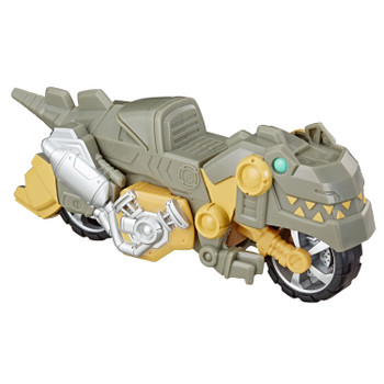 AS SEEN IN THE TRANSFORMERS RESCUE BOTS ACADEMY TV SERIES: Kids can imagine racing to the rescue with this Grimlock toy, inspired by the Transformers Rescue Bots Academy animated TV show.