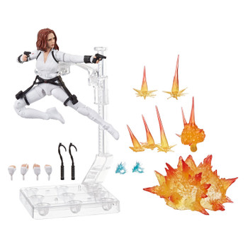 Black Widow action figures comes with 12 accessories.