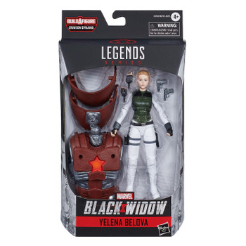 Marvel Legends Black Widow Series 6-Inch YELENA BELOVA Action Figure in packaging from front.