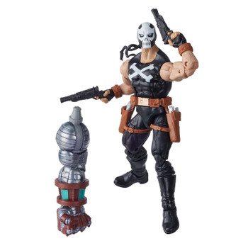 6-inch Marvel's Crossbones comes with 4 accessories and Build-A-Figure part.