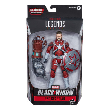 Marvel Legends Black Widow Series 6-Inch RED GUARDIAN Action Figure in packaging from front.