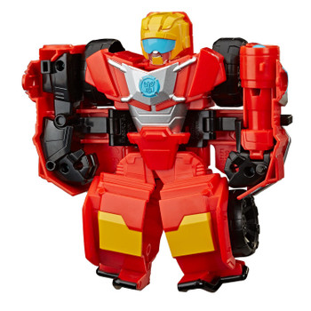 2-IN-1 RESCUE BOTS ACADEMY TOY: Little heroes can enjoy twice the fun with 2 modes of play, converting this Hot Shot action figure from an off-road vehicle to a robot and back again.