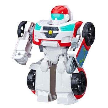 2-IN-1 RESCUE BOTS ACADEMY TOY: Little heroes can enjoy twice the fun with 2 modes of play, converting this Medix the Doc-Bot action figure from a rescue vehicle to a robot and back again.