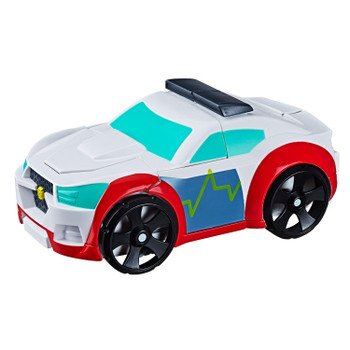 AS SEEN IN THE TRANSFORMERS RESCUE BOTS ACADEMY TV SERIES: Kids ages 3 and up can imagine racing to the rescue with this Medix the Doc-Bot toy, inspired by the Transformers Rescue Bots Academy TV show.