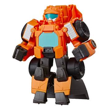 2-IN-1 RESCUE BOTS ACADEMY TOY: Little heroes can enjoy twice the fun with 2 modes of play, converting this Wedge the Construction-Bot action figure from a bulldozer to a robot and back again.