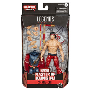 Marvel Comic-Inspired Design: Shang-Chi figure features premium design, detail, and articulation for high poseability and display in a Marvel collection.