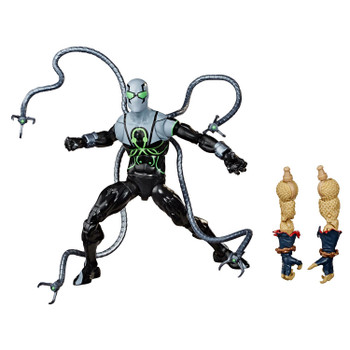 Superior Octopus figure comes with accessory and Build-A-Figure part.