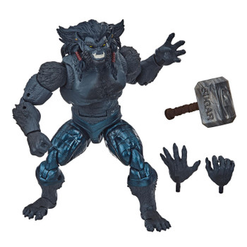 Fans, collectors, and kids alike can enjoy this 6-inch Marvel's Dark Beast X-Men: Age of Apocalypse Collection figure, inspired by the character from the Marvel X-Men comics.