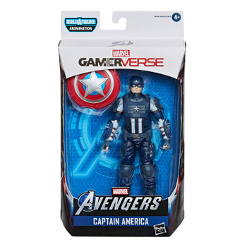 Marvel Legends Gamerverse Series 6-Inch CAPTAIN AMERICA Action Figure in packaging.