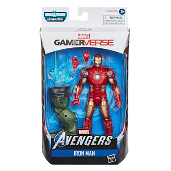 Marvel Legends Gamerverse Series 6-Inch IRON MAN Action Figure in packaging.
